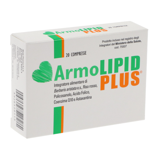 Armolipid Plus - 20 compresse Image